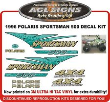 1996 POLARIS SPORTSMAN 500 4X4 Decal Kit  reproductions