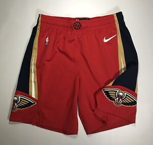 New Orleans Pelicans Nike Vaporknit On Court Shorts Size 40 New