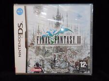 Final Fantasy III para Nintendo DS nuevo y precintado.