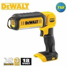 DeWalt DCL050-XJ 18V LED Handheld XR Li-ion Area Work Light Torch Body Only Unit