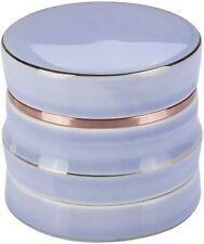 More details for grinder ceramic grinder herb crusher large 2.5 inch 4 piece grinders gift box