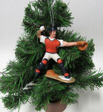 VINTAGE BASEBALL HOLIDAY CHRISTMAS ORNAMENT NEW YORK YANKEES THURMAN MUNSON