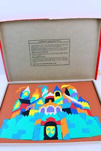 Vintage 1979 Lauri, Inc. - Castle Crepe Foam Puzzle - 2182 - Complete - WITH BOX