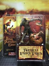 NIP MCFARLANE MONSTERS TWISTED FAIRY TALES PETER PUMPKIN EATER ACTION FIGURE