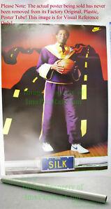 OLD STOCK NIKE Basketball Poster Jamal SILK Wilkes LA Lakers NBA Jeff Koons Art