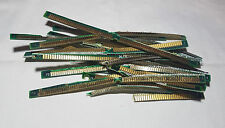 Gold Plated Pins from EDO PC RAM for Gold Recovery - 20 grams