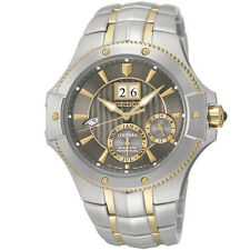 Seiko SNP108 Two-Tone Kinetic Coutura Perpetual Calendar Men's Watch
