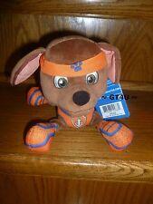"Exclusive Paw Patrol ZUMA All Stars  8"" Star Plush Orange Dog Pup Pals Puppy"