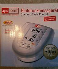 Blutdruckmessgerät Oberarm aponorm OVP