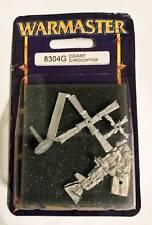 Warmaster Dwarf Gyrocopter 8304G Sealed Citadel Games Workshop 2000