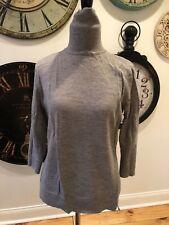 Ladies Gap Gray Turtleneck Sweater Size Large