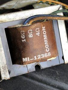 RCA MI-12368 Line Matching Multi-impedance Output Transformer 4/8/16 ohms