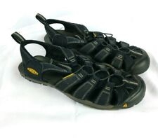KEEN Women's Sz 8 Water Sandals Shoes Waterproof Black *No Sz Tag Loose Fabric*