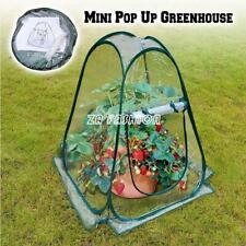 Foldable Mini Pop-Up Garden Plants Flowers Cover Tent PVC Greenhouse Cloche Tool