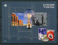 Portugal 2018 MNH Electricity 1v M/S Science Technology Industry Stamps