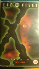 The X-Files - File 2: Tooms / Squeeze (VHS, 1996) Gillian Anderson