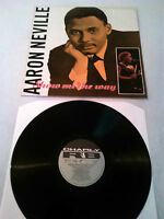 AARON NEVILLE - SHOW ME THE WAY LP N. MINT!!! UK CHARLEY R&B CRB 1217