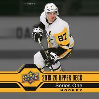 2019-20 Upper Deck UD Hockey Series 1 Base Pick your Card 1-200