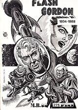 FLASH GORDON 1934-1988. Fanzine monográfico de M. Bayona.