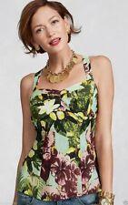 CAbi Tropical Tank Top ~ Cotton Silk ~ Size 6 ~ Style # 340 ~ NWT $79 Retail ===