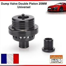 DUMP VALVE 25MM TYPE FORGE DOUBLE PISTON UNIVERSEL TURBO SEAT IBIZA / LEON 1.8T