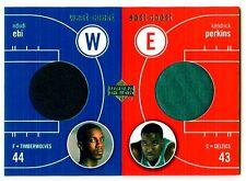 2003-04 Upper Deck West Coast East Coast - #EW-NE/KP - Game Worn Jersey
