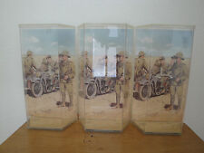 1/6 OR 12 INCHES DRAGON ACTION FIGURE DISPLAY BOX WW2 ERWIN ROMMEL QTY. 3 PCS.