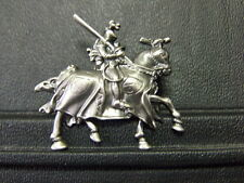 Pin Ritter mit Pferd Templer Kreuzritter - 4 x 4 cm