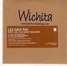 (EL4) Les Savy Fav, Patty Lee / The Sweat Descends - 2008 DJ CD