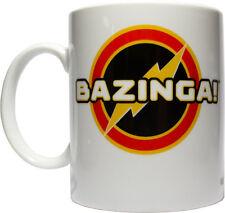*NEW IN BOX* THE BIG BANG THEORY Sheldon Bazinga Logo Ceramic Coffee Tea Mug