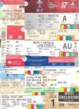 BUNDLE 14 WALES (HOMES) INT RUGBY TICKETS v CANADA FIJI FRANCE IRELAND USA