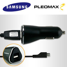 Pleomax USB 2 Port Car Charger for Galaxy S6 S7 Edge NOTE5 A7 LG Optimus G4 V10