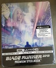 Blade Runner 2049 4K Uhd + Blu-Ray Italy Exclusive Limited Ed. Mondo Steelbook