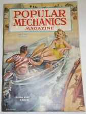 Popular Mechanics Magazine Bubble Boat July 1947 091214R