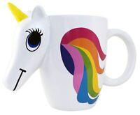 KINREX Unicorn Ceramic Coffee Mug - Rainbow Color Changing Valentine's Cup - ...
