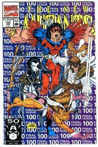 New Mutants #100 (1991) NM 1st X-Force Marvel Comics