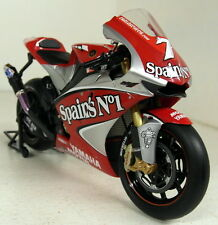 Yamaha YZR-M1 - 1/12 Scale Ready Built Motorcycle model - Carlos Checa 2004