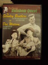 rainbow quest the stanley brothers doc watson dvd rare bluegrass