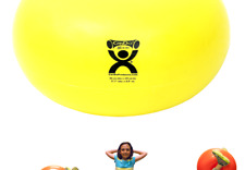 CanDo Donut Exercise, Workout, Core Training, Swiss Stability Ball for Yoga, .