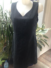 FRANSA robe courte debardeur polyester polyamide noir doublée Taille 40