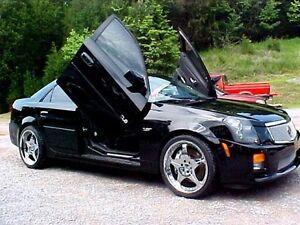 2008 09 10 11 12 13 14 Cadillac CTS Vertical Doors inc. BOLT ON lambo door kit
