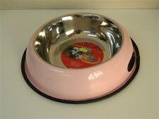 Ciotola in acciaio CAMON FASHION C050/F rosa cani cibo acqua Ø 30 cm M13