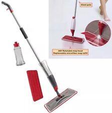 Limpiador de madera piso fregona de aerosol de agua plana Fregona De Azulejos Mármol laminado Reino Unido Stock