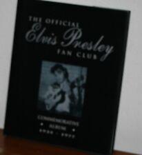 The Official Elvis Presley Fan Club Commemorative Album 1935-1977