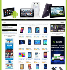 Ready Made Website Amazon Affiliate Dropship Android Tablets Store