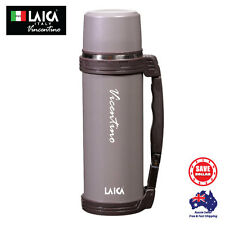 LAICA 1200ml Double Layer Stainless Steel Vacuum Flask Mug Water Bottle Big