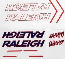 Raleigh Winner Decal set