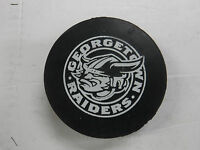 Georgetown Raiders Ontario Junior League Hockey Puck jhhp