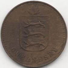 1945 Guernsey 4 Doubles Coin | British Coins | Pennies2Pounds