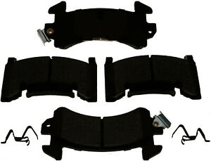Disc Brake Pad Set-Semi-Metallic Front,Rear ACDelco Advantage 14D154MH